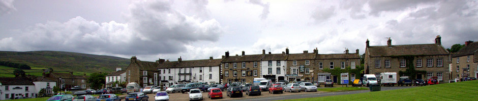 Reeth village green, © Dave Webster 2008
